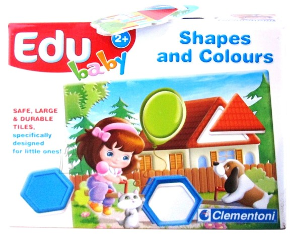 Clementoni 8509. PUZZLE 4 PILTI EDU BABY SHAPES & COLORS