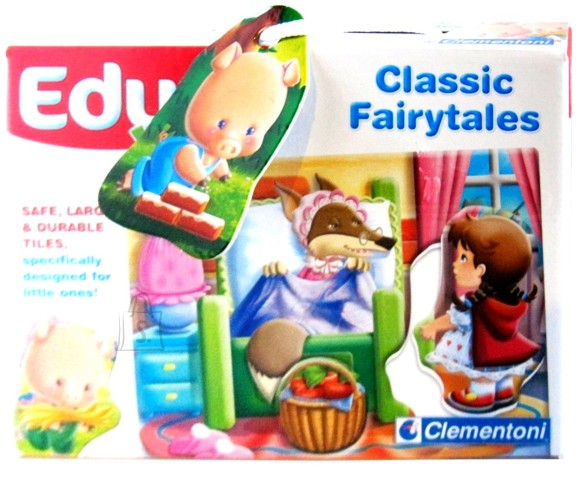 Clementoni PUZZLE 4 PILDIGA EDU BABY FAIRYTALES 8510