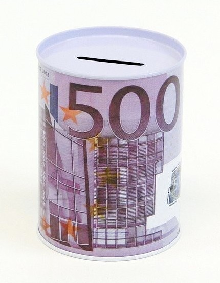 9843. RAHAKASSA PLEKKPURK EURO PILDIGA