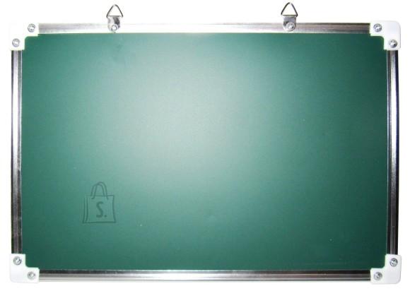 10003. TAHVEL 2 POOLNE KRIIDI JA MARKERI POOL METALLRAAMIS 30x20cm
