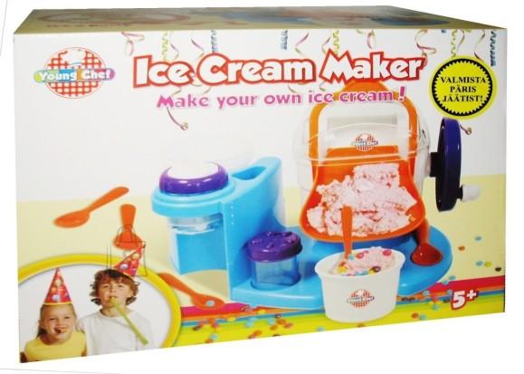 JÄÄTISE VALMISTAMIS MASIN ICE CREAM MAKER YOUNG CHEF 10073