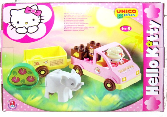 10114. HELLO KITTY KLOTSIKONSTRUKTOR MINI SAFARI