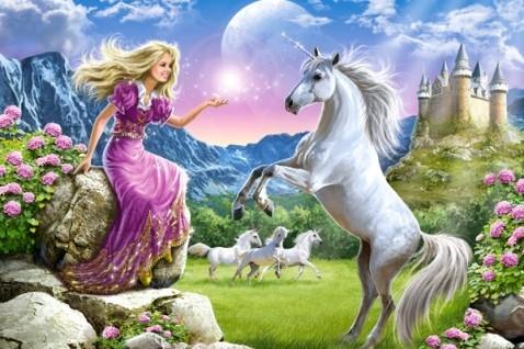 Castorland Puzzle 180 My Friend Unicorn 18024