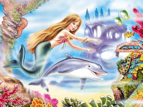 Castorland Puzzle 120 Little Mermaid 12275