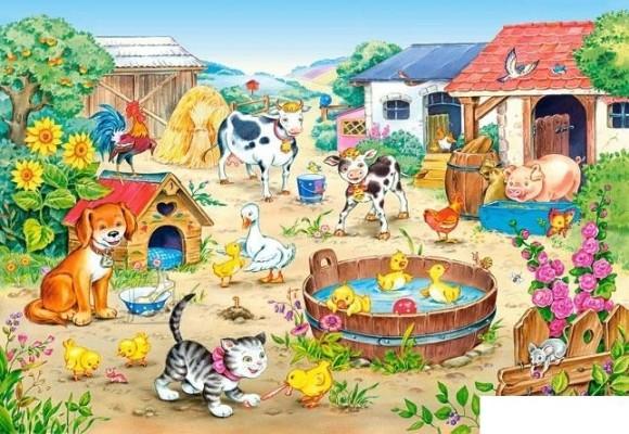Castorland Puzzle 60 Farm 06663