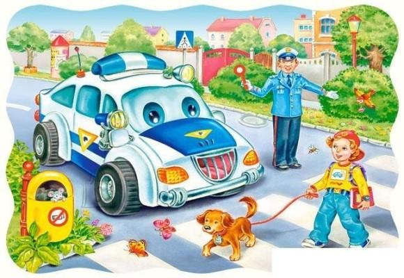 Castorland Puzzle 30 Way to School 03389