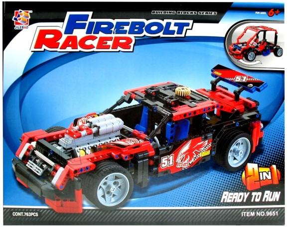 AUTO KONSTRUKTOR FIREBOLT RACER 763osa 9456