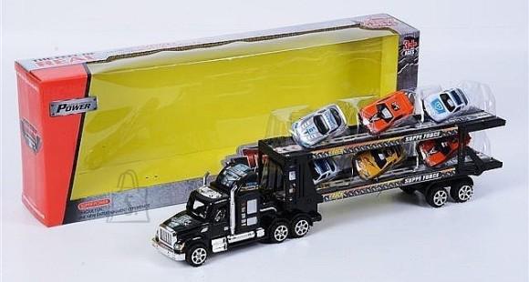 10252. TREILER + 6 AUTOT TRUCK LINE