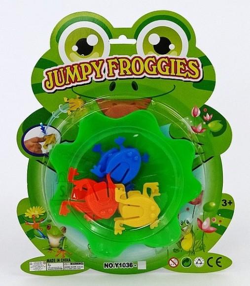 10980. MÄNG KONNADEGA JUMPY FROGGIES