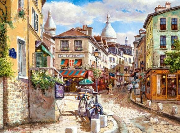 Castorland Puzzle 3000 Mont Marc Sacre Coeur 300518