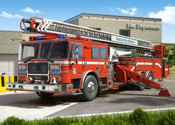 Castorland 27040. Puzzle 260 FIRE ENGINE