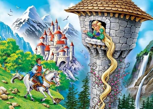 Castorland Puzzle 260 Rapunzel 27453