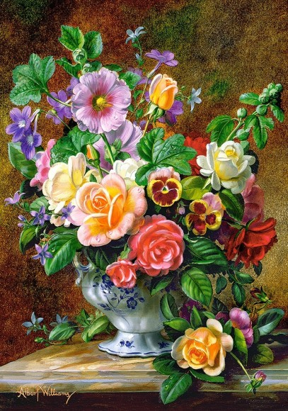 Castorland Puzzle 500 Flowers in a Vase 52868