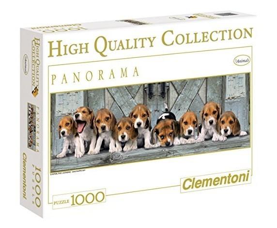 Clementoni 11185. PUZZLE 1000 KOERAD