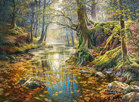 Castorland Puzzle 2000 Reminiscence of the Autumn Forest 200757