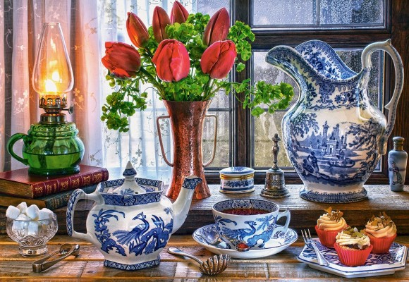 Castorland Puzzle 1500 Still Life with Tulips 151820