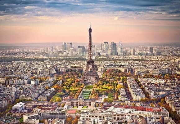 Castorland Puzzle 1500 Cityscape of Paris 151837