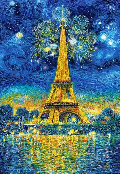 Castorland 151851. Puzzle 1500 Paris Celebration