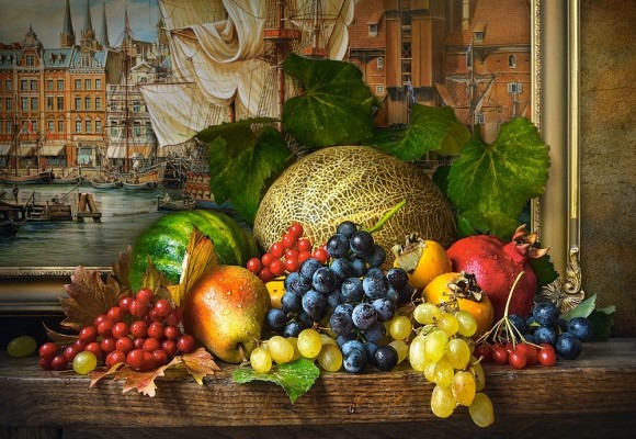 Castorland Puzzle 1500 Still Life with Fruits 151868