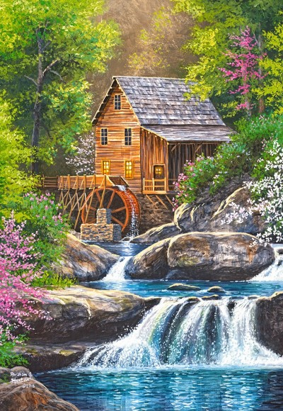 Castorland Puzzle 1000 Spring Mill 104055