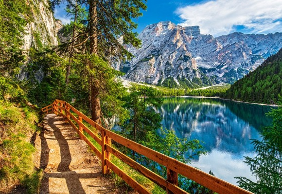 Castorland Puzzle 1000 Braies Lake, Italy 104109