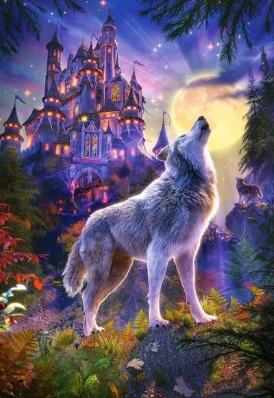 Castorland Puzzle 1000 Wolf Castle 104178