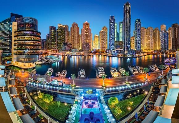 Castorland 104222. Puzzle 1000 Dubai Marina