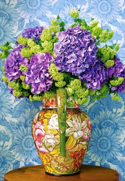 Castorland 104352. Puzzle 1000 Bouquet of Hydrangeas