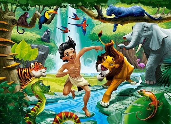 Castorland Puzzle 100 Jungle Book 111022