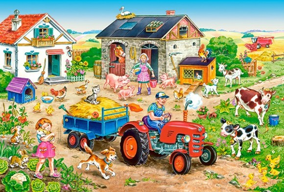 Castorland Puzzle 40 Life on the Farm 040193