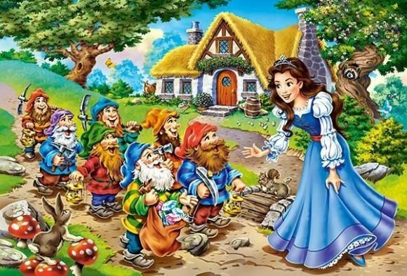 Castorland 040247. Puzzle 40 Snow White and the Seven Dwarfs