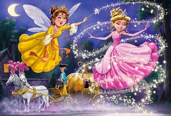 Castorland 040278. Puzzle 40 Cinderella