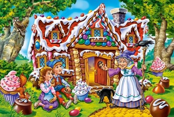 Castorland Puzzle 40 Hansel and Gretel 040285