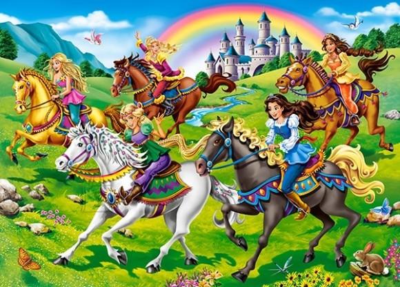 Castorland 27507. Puzzle 260 Princess Horse Ride