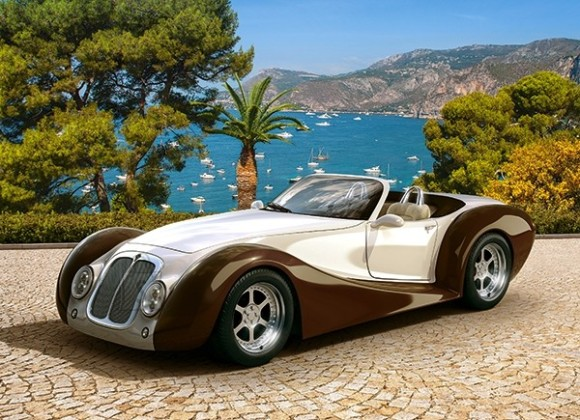 Castorland Puzzle 260 Roadster in Riviera 27538