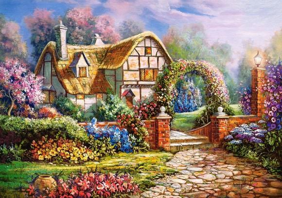 Castorland 53032. Puzzle 500 Wiltshire Gardens