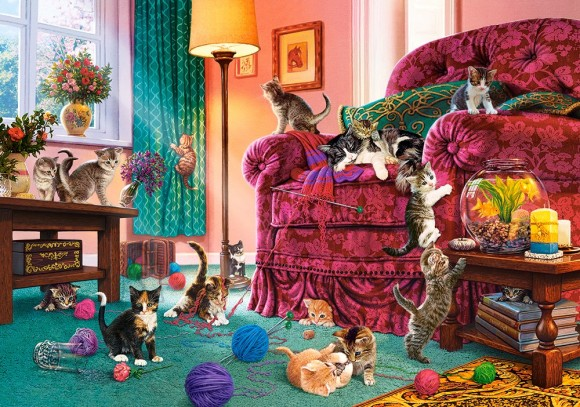 Castorland Puzzle 500 Naughty Kittens 53254