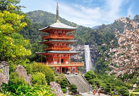 Castorland Puzzle 1000 Seiganto-ji-Temple 103201