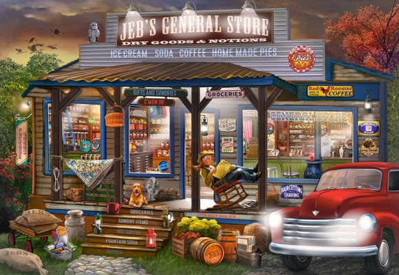 Castorland Puzzle 1000 Jeb's General Store 104505