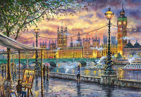 Castorland Puzzle 1000 INSPIRATIONS OF LONDON 104437