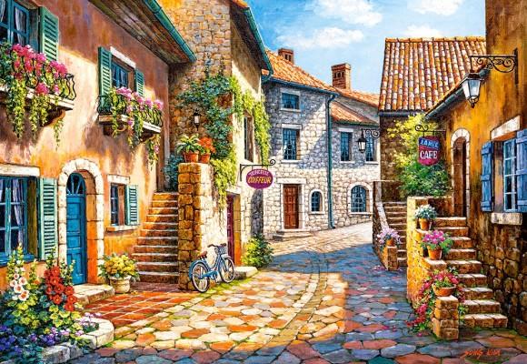 Castorland Puzzle 1000 RUE DE VILLAGE 103744