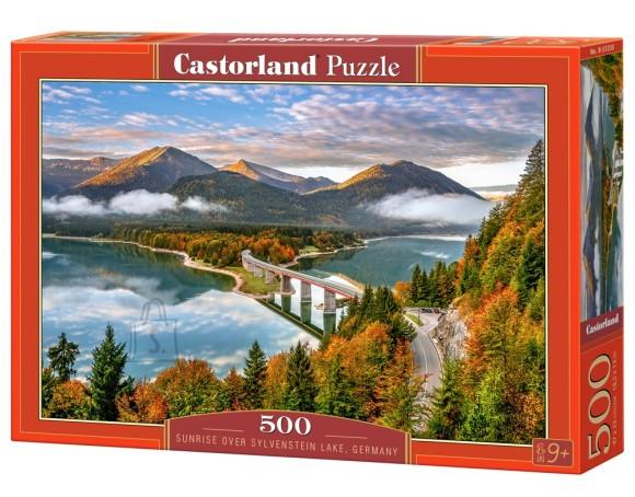 Castorland Puzzle 500 Sunrise over Sylvenstein Lake, Germany 53353