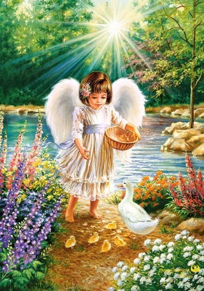 Castorland Puzzle 500 An Angel's Warmth 52844