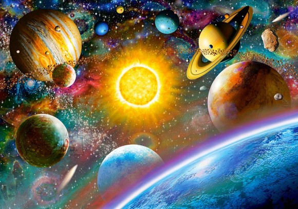 Castorland Puzzle 500 Outer Space 52158