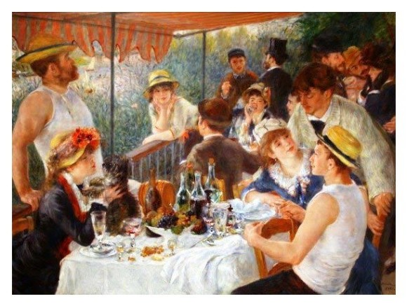 Castorland Puzzle 1000 Auguste Renoir - Luncheon of the Boating Party 100200