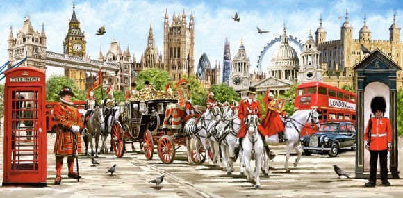Castorland Puzzle 4000 Pride of London 400300