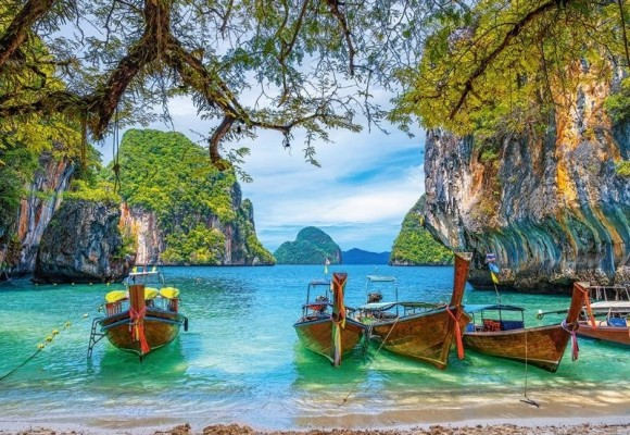Castorland Puzzle 1500 Beautiful Bay in Thailand 151936