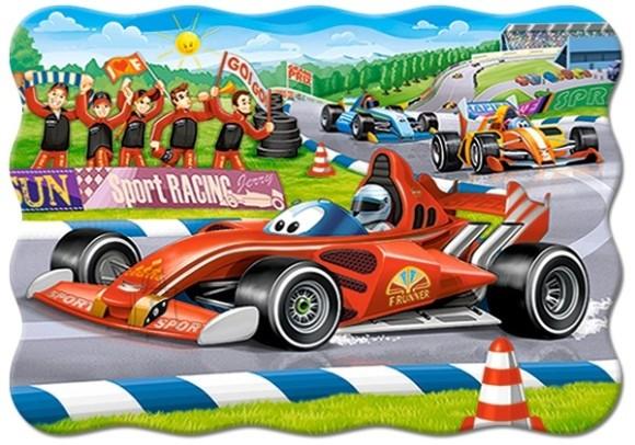 Castorland Puzzle 30 Racing Bolide 03761