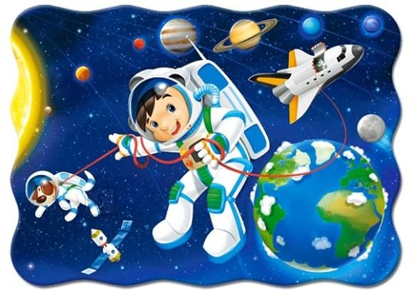 Castorland Puzzle 30 Space Walk 03594