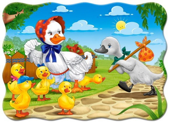 Castorland Puzzle 30 The Ugly Duckling 03723